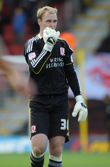 The Advertiser Series: ENGLAND DUTY: Middlesbrough keeper Jason Steele