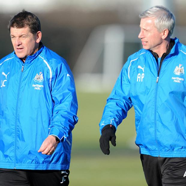 The Advertiser Series: IN CHARGE: John Carver will oversee Newcastle's first-team affairs during Alan Pardew's seven-game suspension