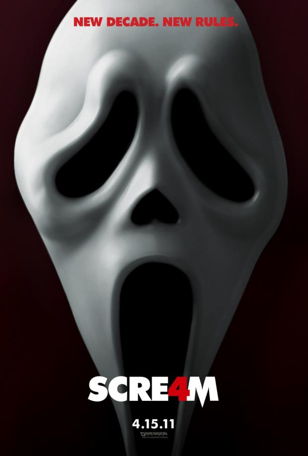The Advertiser Series: SCREAM 4: Movie poster for the latest Scream movie