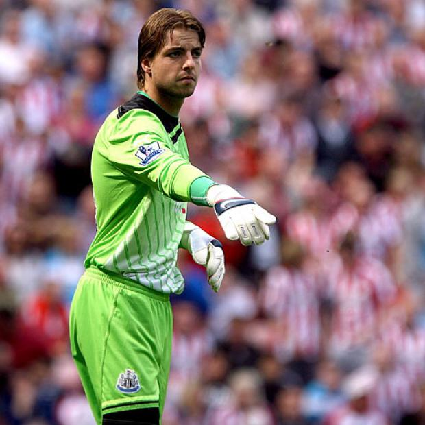 The Advertiser Series: SPRINGBOARD: Tim Krul is hoping last weekend's 1-0 win over Aston Villa acts as a springboard for the final 11 games of Newcastle's season