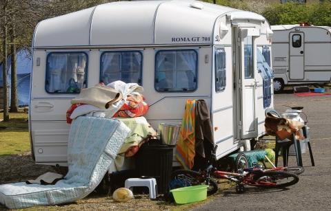 The Advertiser Series: Space for tourer caravans will be provided at the approved new pitches