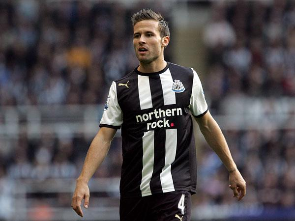 FRENCH THREAT: Yohan Cabaye is among the Newcastle players that Bordeaux fear