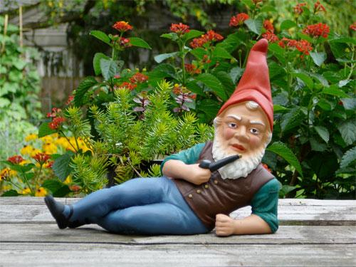 The Advertiser Series: A garden gnome was among the stolen items recovered by Darlington poli