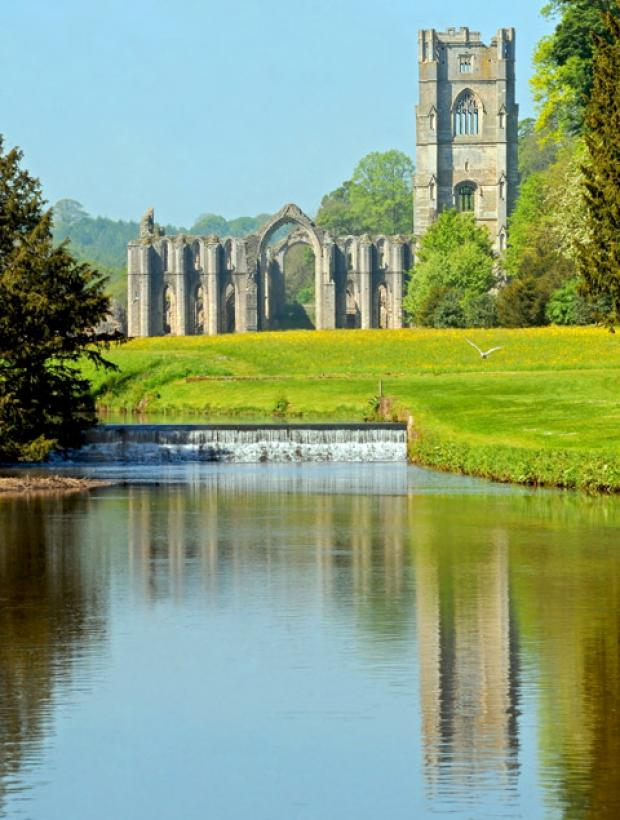 The Advertiser Series: Fountains Abbey.