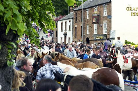 Appleby Horse Fair in 2012