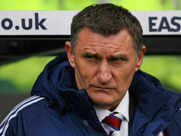 NOT ABOUT MONEY: Tony Mowbray