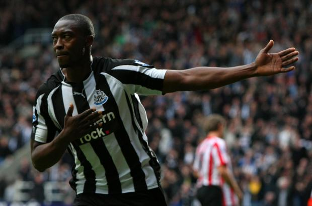 The Advertiser Series: DERBY DESTROYER: Shola Ameobi has scored seven goals in Tyne-Wear derbies, six more than any other player in the two squads