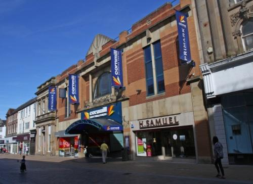 CELEBRATIONS PLANNED: The Cornmill shopping centre, in Darlington
