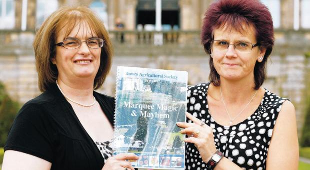 SHOW ADVICE: Margaret Cooper, left, and Karen Bainbridge with their book