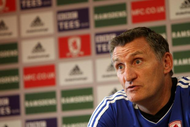 UPBEAT: Tony Mowbray