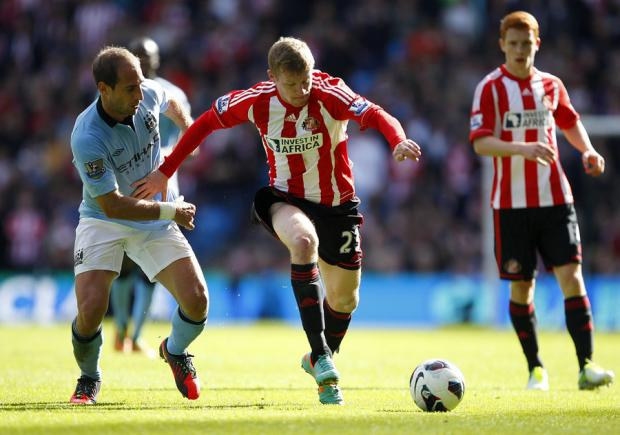 The Advertiser Series: RARE THREAT: James McClean on the attack for Sunderland