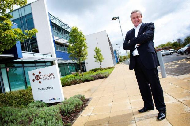 SECURED INVESTMENT: Kevin Maddison, GMP managing director at NETPark