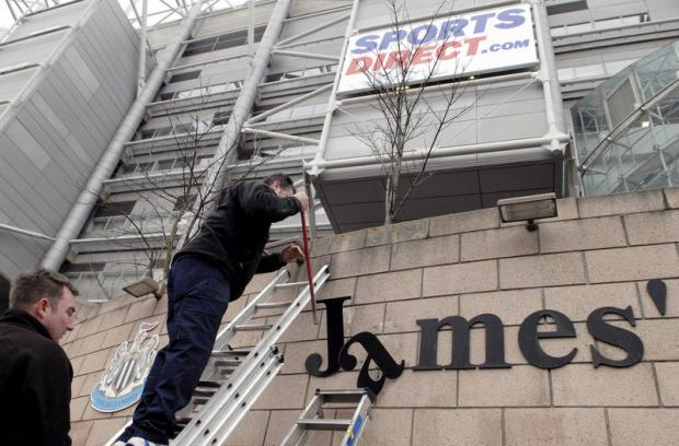 The Advertiser Series: AS YOU WERE: Newcastle United are to rename their home St James' Park – a year after it was changed