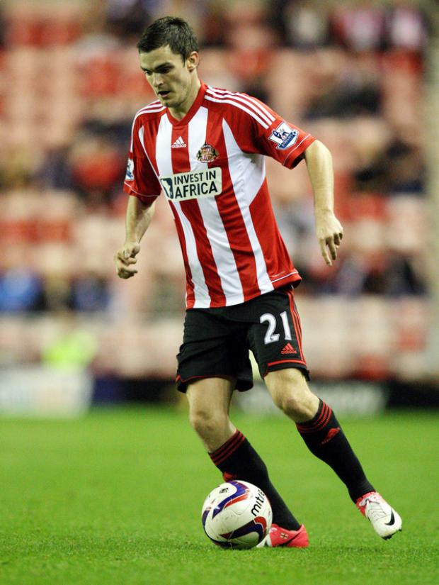 WORK TO DO: Adam Johnson says Sunderland are building steadily