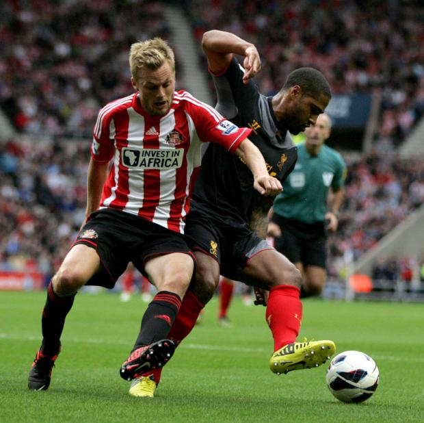 BUSY WEEK: Seb Larsson