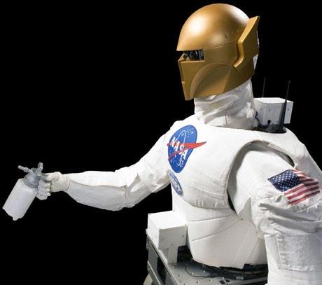 OUT OF THIS WORLD: Robonaut, the world's first humanoid robot