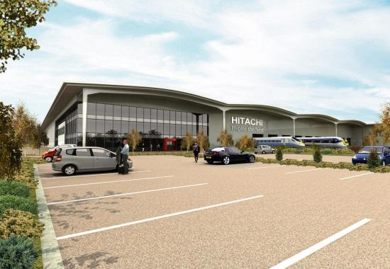 Hitachi will open a train assembly plant in Newton Aycliffe, County Durham in 2015