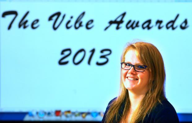 ALL SYSTEMS GO: Darlington Youth MP Emily O'Hara launches the awards scheme yesterday