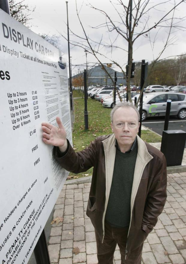 The Advertiser Series: Councillor David Stoker at Freeman's Place car park