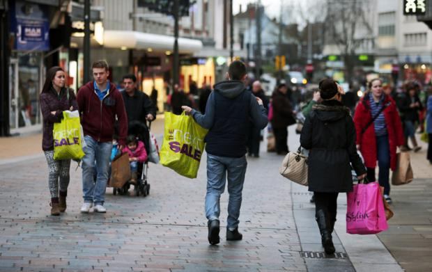 The Advertiser Series: Shoppers in Darlington look for bargains