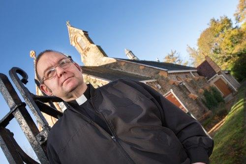NEW MISSION: Father Damon Bage       Picture: Keith Blundy/Aegies Associates