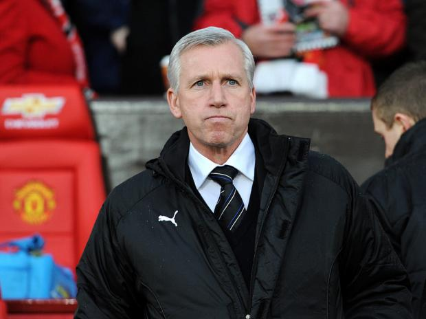 NEW BLOOD NEEDED: Alan Pardew