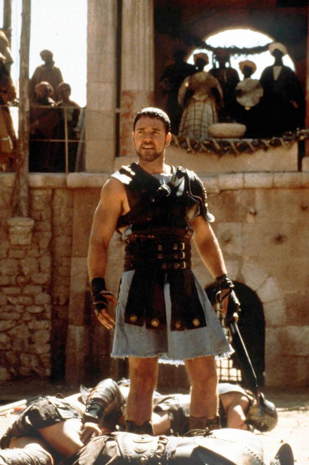 The Advertiser Series: ASPIRING FILM-MAKERS WANTED: A scene from Middlesbrough-born Ridley Scott's Gladiator, starring Russell Crowe as Roman general-turned-slave-turned-gladiator Maximus.