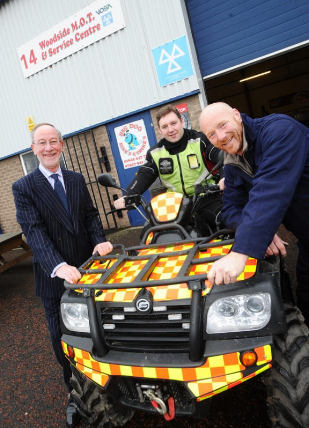 Gary Evis has won a contract to keep Woodside MOT & Service Centre in Middlesbrough