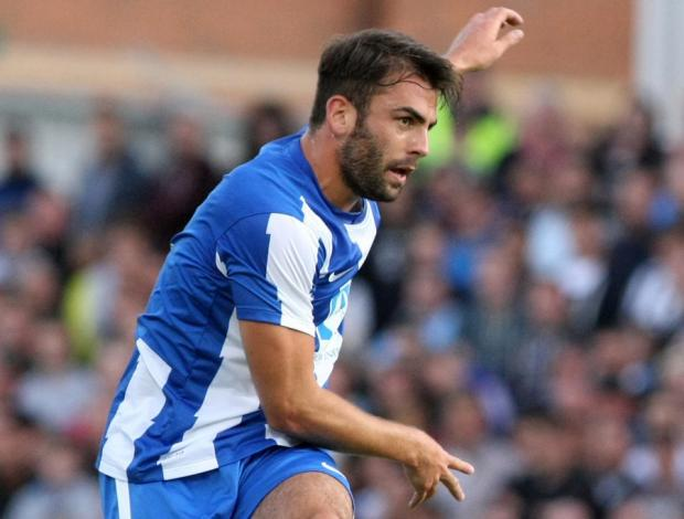 The Advertiser Series: IN A DOGFIGHT: Hartlepool United midfielder Simon Walton
