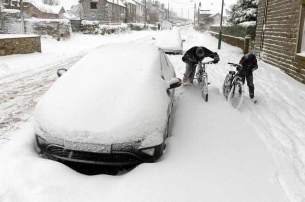 The Advertiser Series: Heavy Snow in County Durham