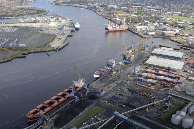 The Advertiser Series: GROWTH PLANS: Port of Tyne's Riverside Quay
