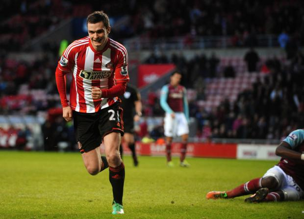 SCORING GOALS: Sunderland winger Adam Johnson