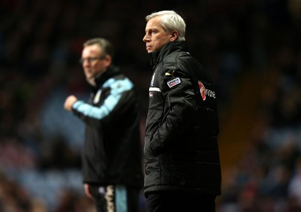 The Advertiser Series: Distraction: Aston Villa boss Paul Lambert, pictured with Newcastle's Alan Pardew, could do without the FA Cup
