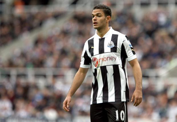 SUBJECT OF INTEREST: Newcastle United's Hatem Ben Arfa has been linked to Liverpool and Arsenal, despite being injured
