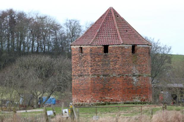 ROOM WITH A COO: The dovecote at Low Middleton Hall