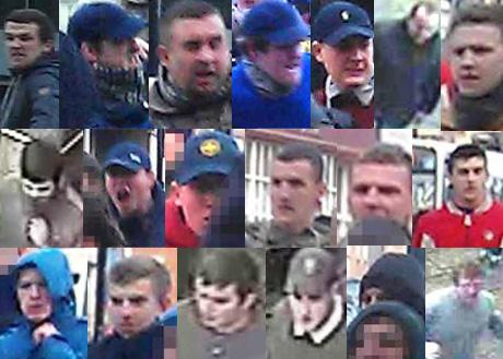 Do you recognise any of these people? Contact Northumbria Police on 101 ext 69191, or Crimestoppers anonymously on 0800-555-111