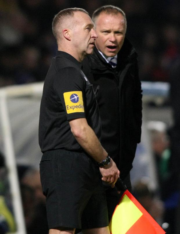 FLAGGING: Pools boss John Hughes