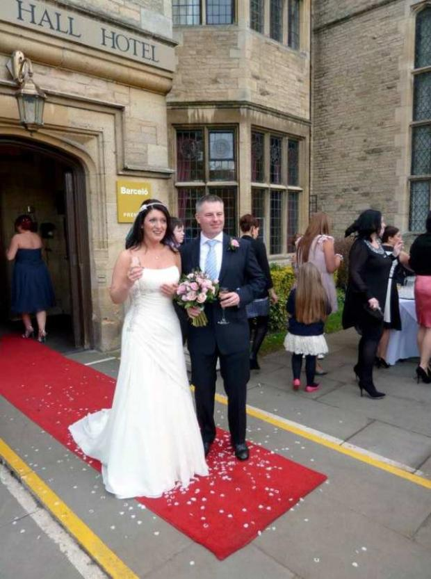 Annice and Glen Grundy, both 43, held their special day at Redworth Hall Hotel, near Darlington on March 10 last year.