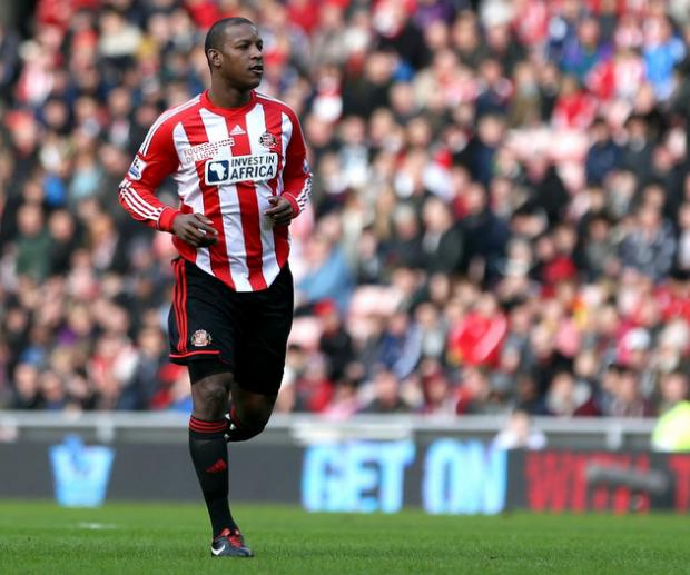 IN HARRY'S CORNER: Titus Bramble