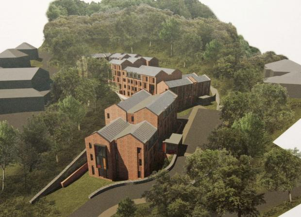 An artist's impression of the accommodation