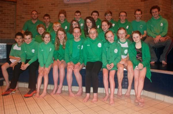 Darlington Swimmers at Northumberland & Durham County Championships