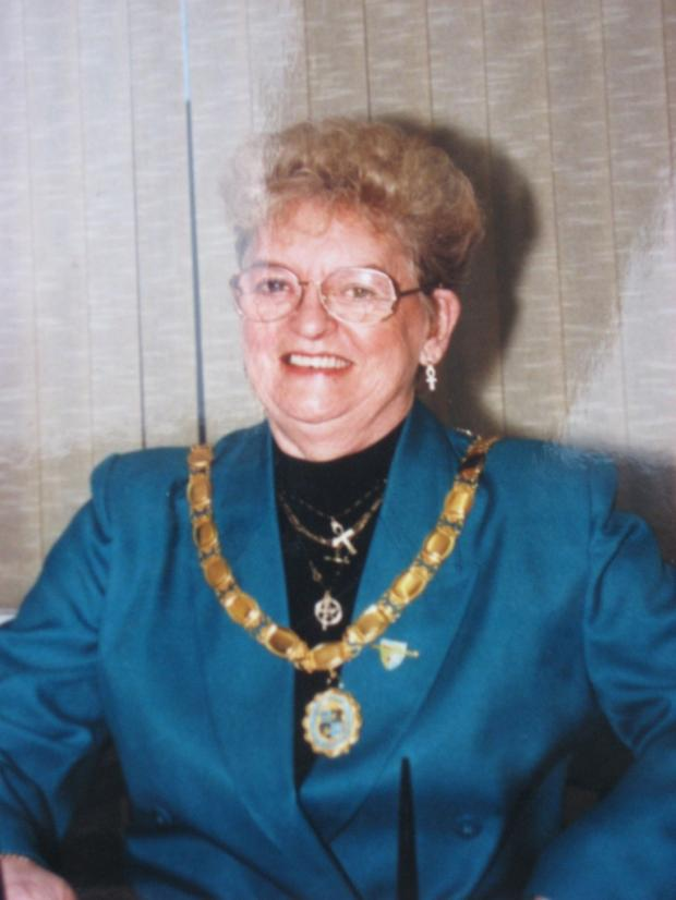 CHILTON STALWART: Gennie Ratcliffe as council chairman