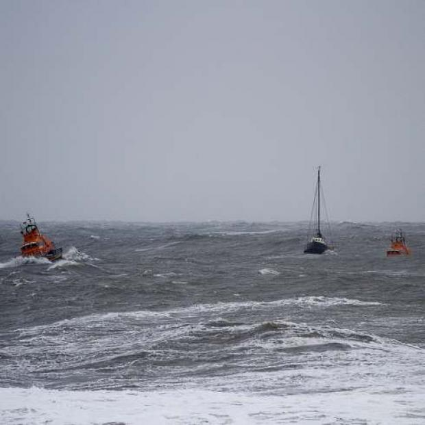 The Advertiser Series: Yacht rescued in gale force winds