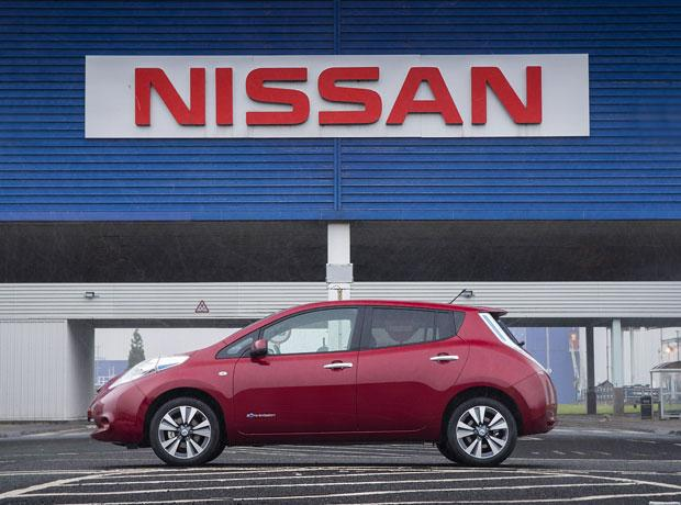 The Advertiser Series: A Nissan Leaf, pictured at the company's Sunderland plant