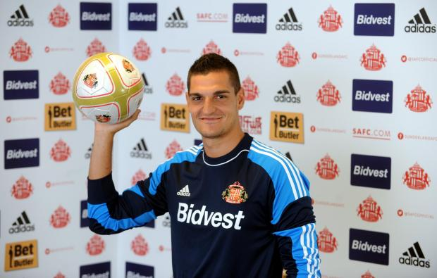 The Advertiser Series: Enjoying Wearside: Vito Mannone is keen for his first Sunderland season to end with a place in the Premier League