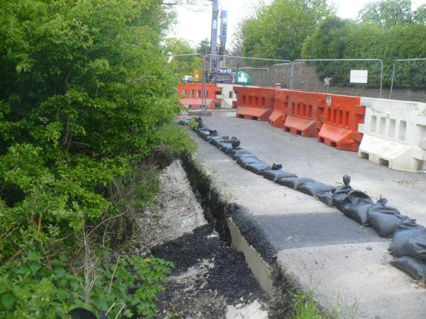 The Advertiser Series: FLASH BACK: The A67 landslip has been a headache for drivers since February 2013