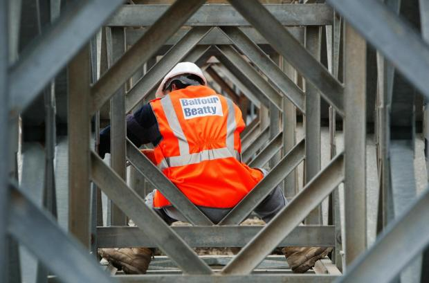 The Advertiser Series: A Balfour Beatty worker on a construction site