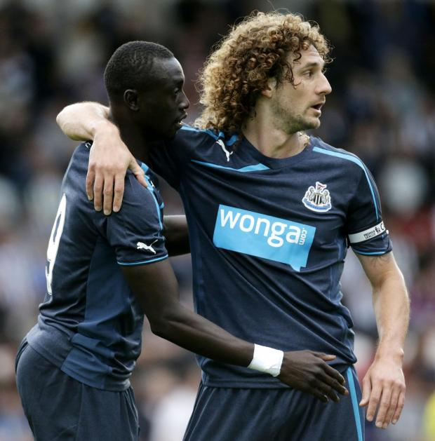 The Advertiser Series: Leader: Fabricio Coloccini will be back in the Newcastle side.