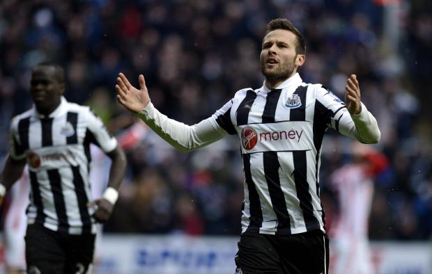 The Advertiser Series: ON HIS WAY: Yohan Cabaye is set to join Paris St Germain, with Newcastle struggling to secure a replacement ahead of Friday's transfer deadline