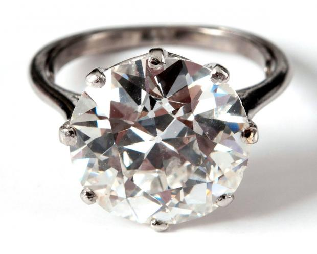 The Advertiser Series: Diamond ring won in Valentine's competition (file pic)